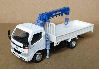 絕版品 HINO 1/43吊卡車模型---無外盒