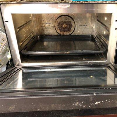 蒸氣烘烤爐 Panasonic NU-SC300 二手商品出清 還有保固