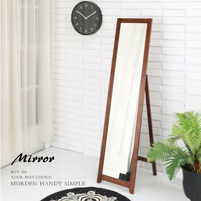 和室桌 外宿 床邊桌 收納【家具先生】新品 優雅實木穿衣鏡 W-K-MR051A 鏡子/收納/立鏡/桌鏡/茶几/置物櫃