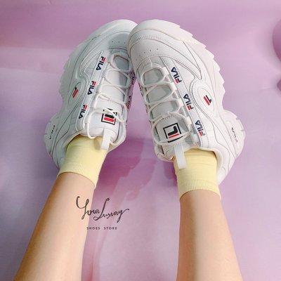 【Luxury】Fila DISRUPTOR 3 FORMATION 3代破壞者 白鋸齒 老爹鞋 厚底 男女鞋 韓國代購
