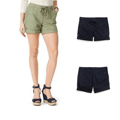 【Q比購】新款Tommy Hilfiger女式短褲 全新