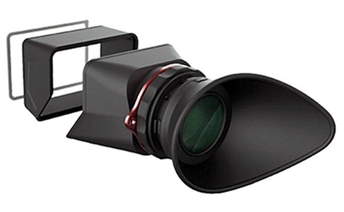 呈現攝影-美國Kamerar MagView V43 LCD取景器 3吋 2.5倍螢幕放大鏡 遮光檢視鏡 屈光度