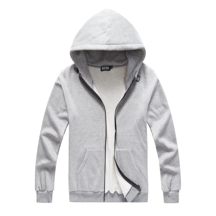 ZEBRA-【CJ0193】韓版 素面 基本款 3色 太空領 落肩 刷毛 連帽外套 M/XL 特價580元