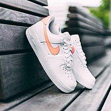 "Nike Air Force 1 Low 經典 低幫 百搭 滑板鞋""白橘粉""Ah0287-102 女鞋"