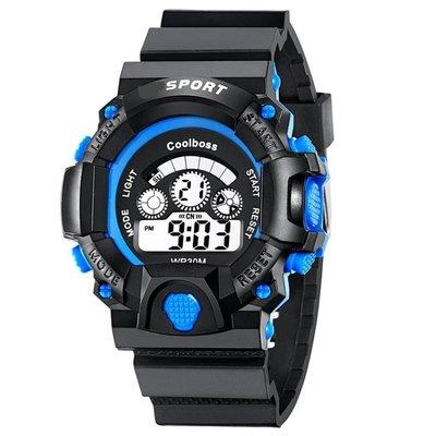 兒童手錶男孩女孩男童電子表中小學生夜光防水可愛小孩女童手錶