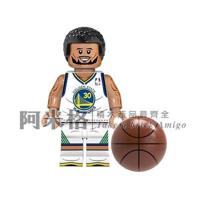 阿米格Amigo│XP151 史蒂芬 柯瑞 勇士隊 Stephen Curry NBA 籃球 球星第三方人偶非樂高但相容