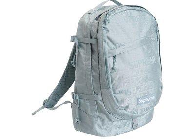 「Rush Kingdom」Supreme Backpack (SS19) Ice 冰藍 後背包