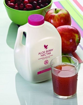 Forever 永久 蘆薈汁(蘋果+小紅莓) ~1公升/瓶~