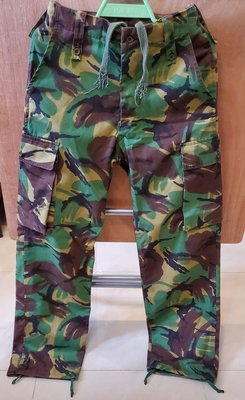 British Style Camouflage Trousers