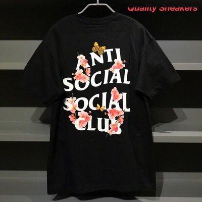 現貨 - Anti Social Social Club ASSC Peach Love 黑色 黑底 桃花 短T Tee