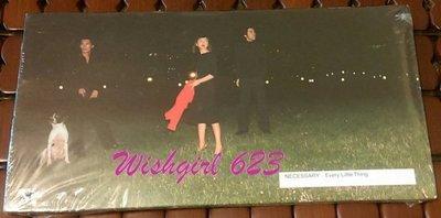 Every Little Thing 小事樂團 -『NECESSARY』日版單曲CD (新品)~ 持田香織、伊藤一朗
