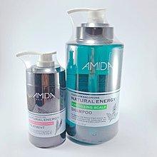 Amida 蜜拉 平衡去脂洗髮精1000ml+角質蛋白護髮素250ml