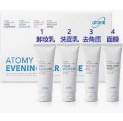????????Atomy【艾多美】純天然奈米 護膚保養品---夜間保養4件組---