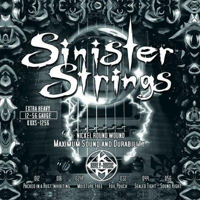 ☆唐尼樂器︵☆ Kerly Strings Sinister 系列冰火弦 KQXS-1256 (12-56) 美製電吉他弦