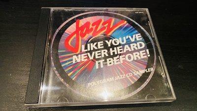 CD~~JAZZ LIKE YOU'VE NEVER HEARD IT BEFORE! / 銀圈版