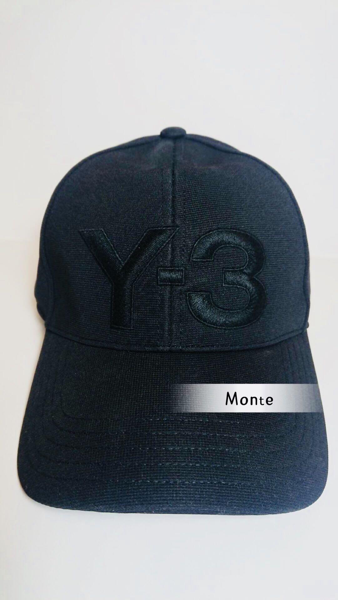Y3 SS19 新款 刺繡棒球帽 大LOGO 蒙特歐洲精品