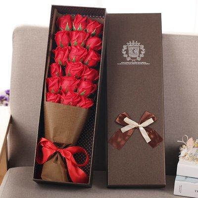 玫瑰花束 創意生日禮物 送女生女友老婆結婚紀念日xw