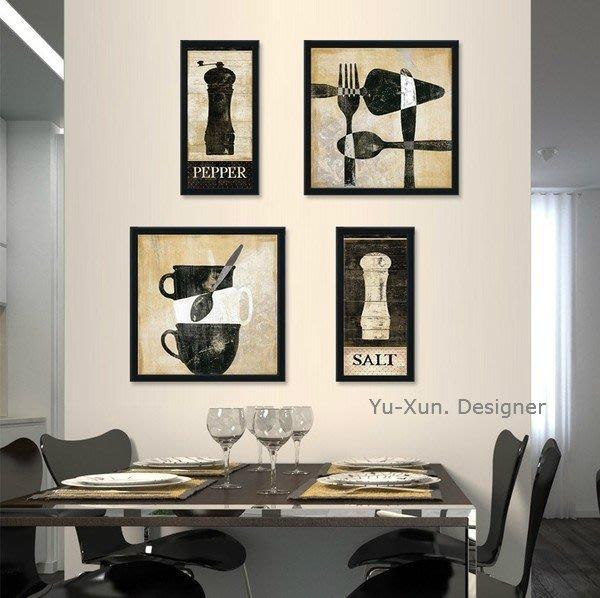 北歐掛畫 餐廳壁掛畫 框裝飾 掛飾 美式鄉村風贈畫芯 裝潢設計 臥室 玄關  民宿開店裝潢§ Yu Xun-Design