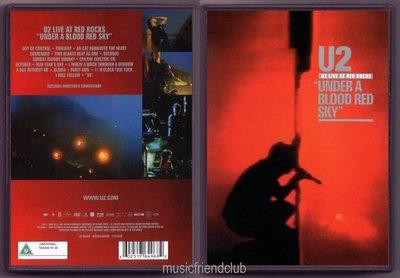 音樂居士#U2 - Under A Blood Red Sky Live At Red Rocks () DVD