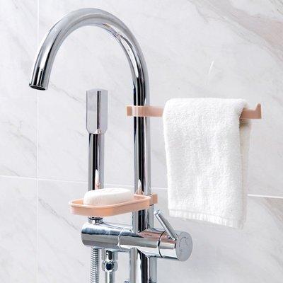 廚房 收納水龍頭瀝水置物架免打孔水池收納架 廚房用品水槽海綿抹布瀝水架