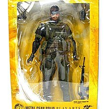++全新 Play Arts 改 Metal Gear Solid  和平先驅 野戰服 Snake 蛇叔
