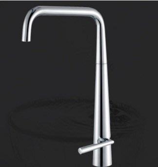 全精銅鑄造豪華修身造型廚房冷熱水龍頭NO80535