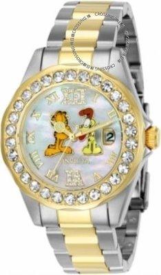 展示品 Invicta 24887 Garfield Limited Edition Quartz Crystal Accented Womens W