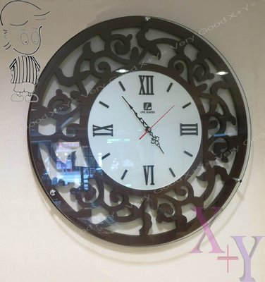 【X+Y時尚精品傢俱】時鐘掛鐘系列-珊曼莎藝術玻璃時鐘-免運費-暢銷商品 自用送人皆宜