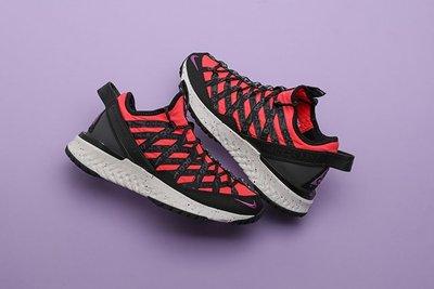 Nike ACG Terra Gobe Bright Crimson 休閒 慢跑 黑 紅 BV6344-600 男鞋