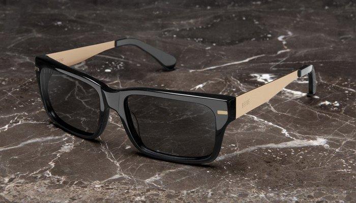 { POISON } 9FIVE GREENS BLACK GOLD 黑金 美國西岸風格太陽眼鏡品牌