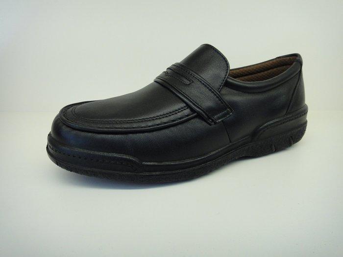 [WALKER 休閒運動] 日本原裝進口MOON  STAR 月星 氣墊皮鞋 休閒鞋 健步鞋 黑.咖
