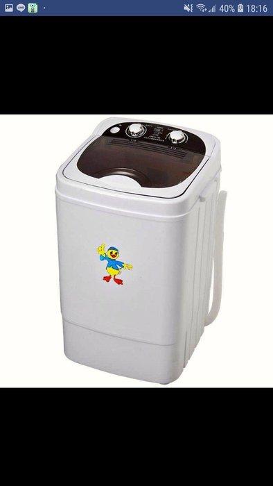 迷妳洗衣機家用小型單桶簡易方便洗衣機