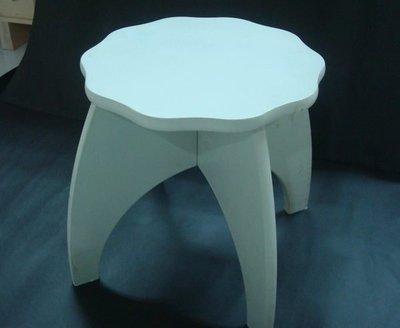 ~H92白花邊圓椅(DIY) $464 (原價580)