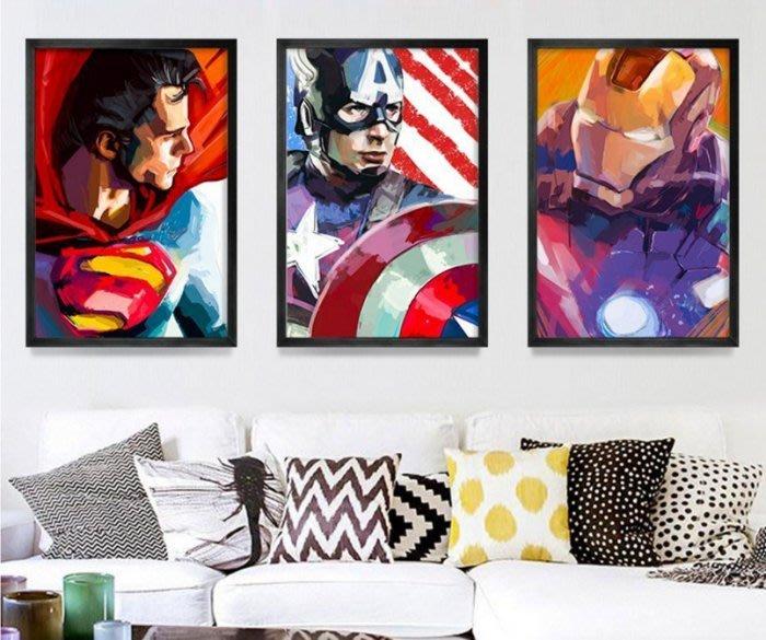 ART。DECO  MARVEL復仇者聯盟漫威電影海報掛畫英雄系列裝飾畫