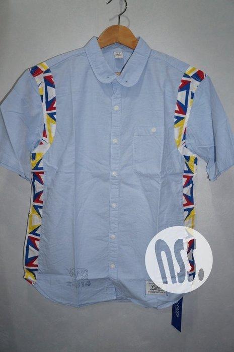 特價「NSS』LUKER by NEIGHBORHOOD OX C-SHIRT SS 牛津 拼布 短袖襯衫 S M L