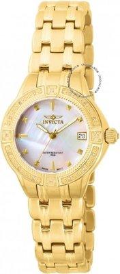 展示品 Invicta 0268 Wildflower Classique Diamond Accented Bracelet Women's Wat