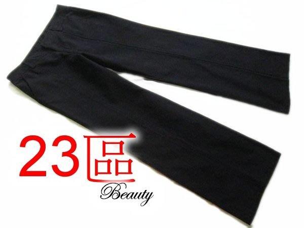 *Beauty*23區黑色寬管長褲 40號 日本製