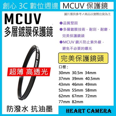 MCUV 多層鍍膜保護鏡 UV保護鏡 37mm 抗紫外線 薄型 GF9 GF10 12-32mm X鏡14-42mm