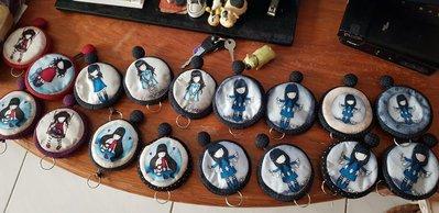 手縫可愛鑰匙包