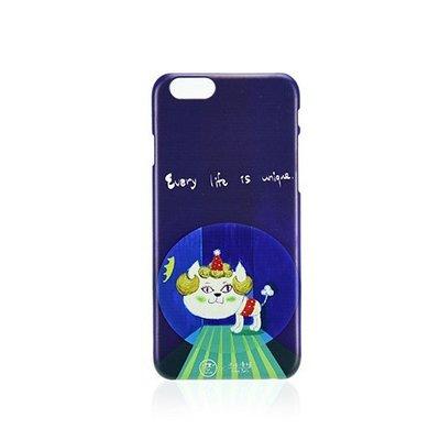 C'est Si Bon|【限量現貨•優惠】插畫立體浮雕iphone系列手機殼(貴婦貓阿彩)