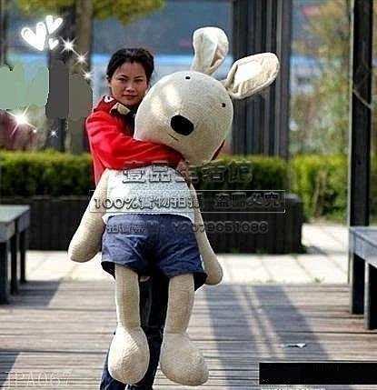 【壹品】新款 限量版 超人氣&特大號LeSucre1.7米砂糖兔 公仔 毛絨玩偶 JPA067 凱蒂貓咪毛絨抱枕靠墊 送女友老婆YP-21485