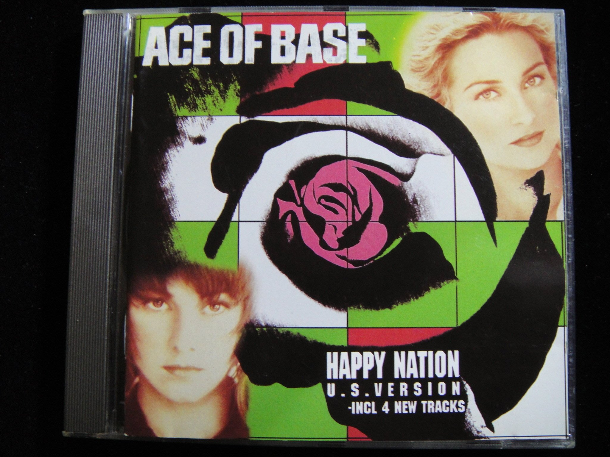【198樂坊】Ace of Base-Happy Nation(All That She Wants...美版)DS