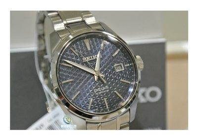 ◎富興鐘錶◎小GS 精工 PRESAGE Sharp Edged Serie機械男錶-藍☆公司貨☆SPB167J1現貨