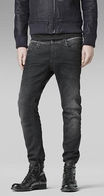 [G-Star Revend Super Slim Jeans  Colour:Dk Aged] 純黑 Size:W28