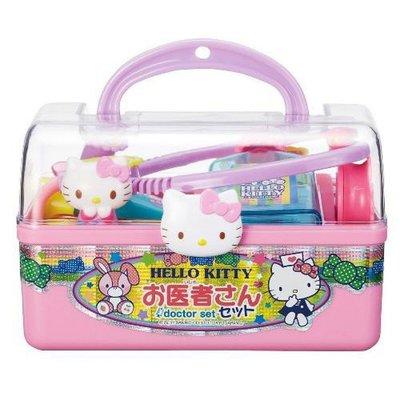 【波波的家】日本 凱蒂貓 Hello Kitty 醫生玩具組 扮演遊戲 手提醫藥箱 兒童禮物