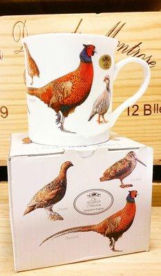 獵鳥骨瓷馬克杯:獵鳥 野禽 骨瓷 馬克杯 餐具 收藏 禮品 工業風