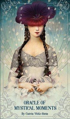 【預馨緣塔羅鋪】現貨正版奧秘時刻神諭卡Oracle of Mystical Moments(全新52張)布袋組