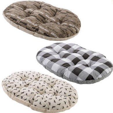 《中大型犬用》Ferplast飛寶10型舒適睡墊(顏色隨機出貨)貓床/狗床/兩面可用睡窩(適用義大利10型豪華寵物床組)