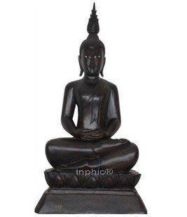 INPHIC-佛像 柚木佛像 木雕坐佛 木質佛 東南亞家居裝飾品擺設