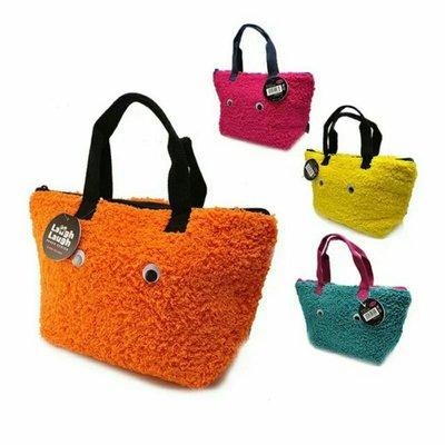 日本cram 毛絨便當袋手提袋 保溫冷提袋  大款
